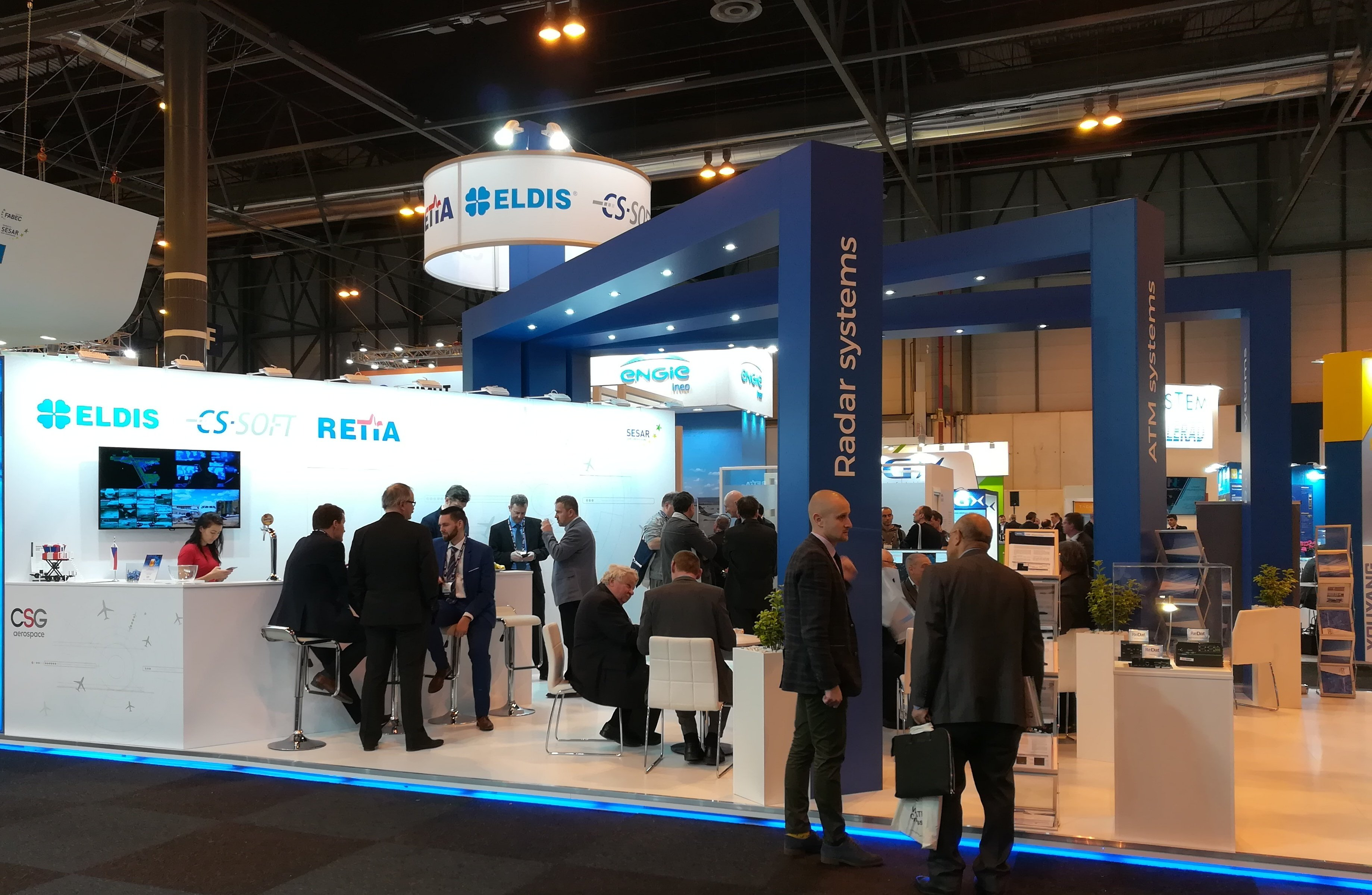 ELDIS, CS SOFT AND RETIA showed together at the World ATM Congress 2019 exhibition in Spain.