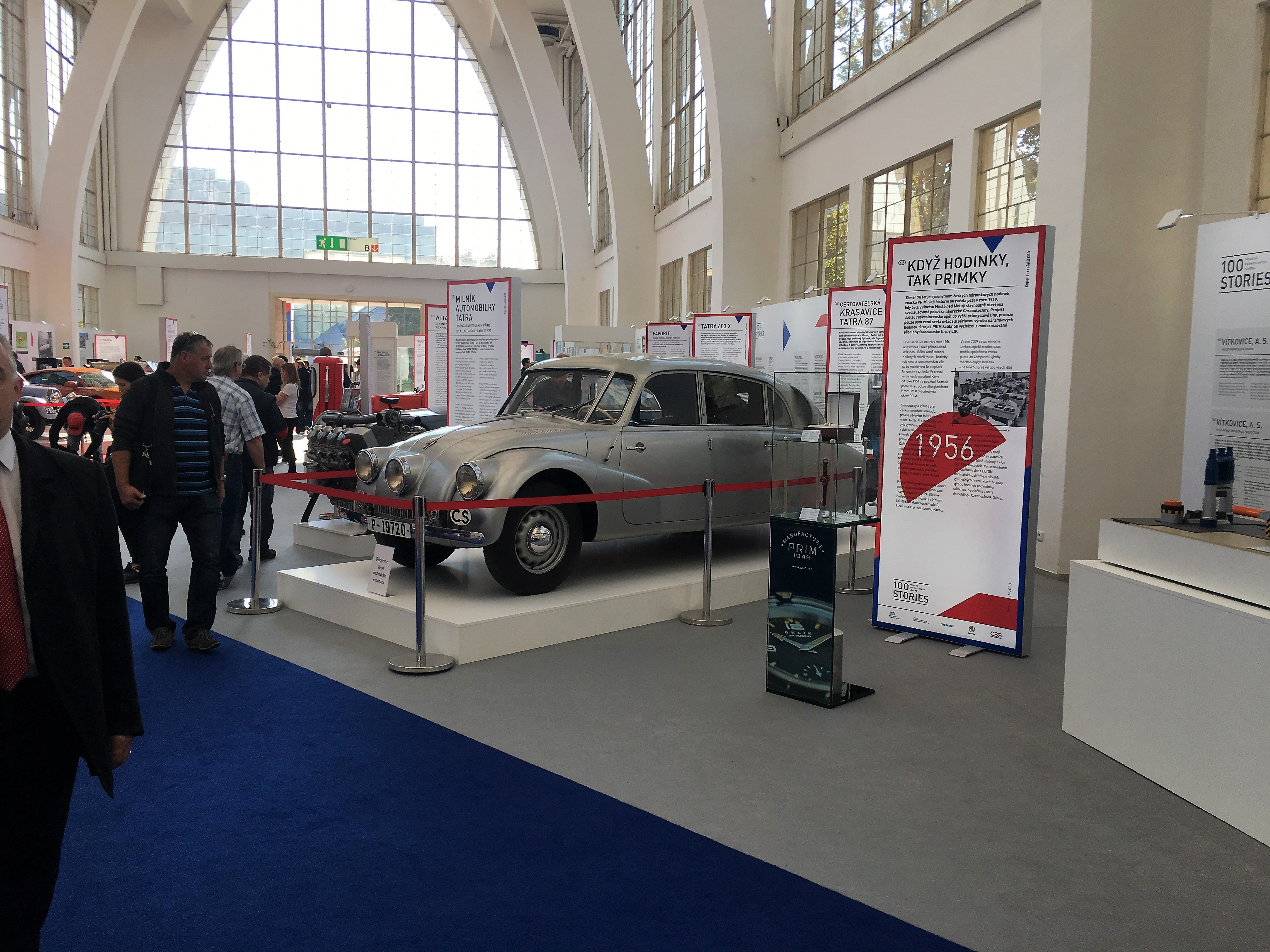 CZECHOSLOVAK GROUP commemorates its iconic products through the 100RIES exhibition at the International Engineering Fair in Brno